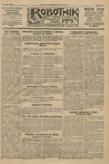 Robotnik : centralny organ P.P.S. R.34, nr 190 (9 lipca 1928) = nr 3388
