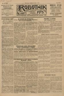 Robotnik : centralny organ P.P.S. R.34, nr 191 (10 lipca 1928) = nr 3389