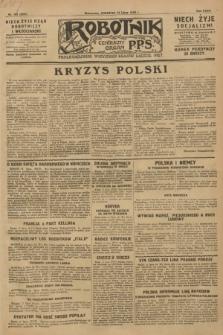 Robotnik : centralny organ P.P.S. R.34, nr 193 (12 lipca 1928) = nr 3391