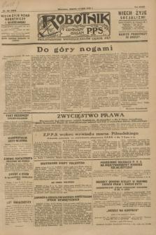 Robotnik : centralny organ P.P.S. R.34, nr 195 (14 lipca 1928) = nr 3393