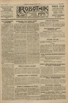 Robotnik : centralny organ P.P.S. R.34, nr 196 (15 lipca 1928) = nr 3394