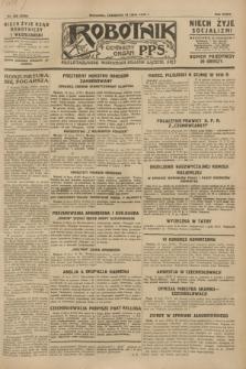 Robotnik : centralny organ P.P.S. R.34, nr 200 (19 lipca 1928) = nr 3398