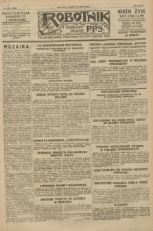 Robotnik : centralny organ P.P.S. R.34, nr 201 (20 lipca 1928) = nr 3399
