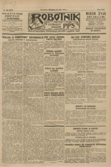 Robotnik : centralny organ P.P.S. R.34, nr 203 (22 lipca 1928) = nr 3311