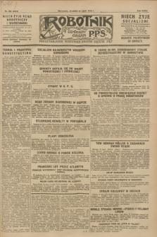 Robotnik : centralny organ P.P.S. R.34, nr 205 (24 lipca 1928) = nr 3313