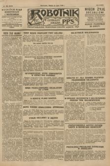 Robotnik : centralny organ P.P.S. R.34, nr 206 (25 lipca 1928) = nr 3314