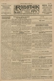 Robotnik : centralny organ P.P.S. R.34, nr 209 (28 lipca 1928) = nr 3317