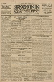 Robotnik : centralny organ P.P.S. R.34, nr 216 (4 sierpnia 1928) = nr 3324
