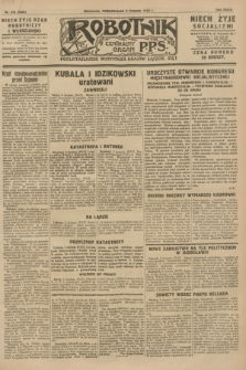 Robotnik : centralny organ P.P.S. R.34, nr 218 (6 sierpnia 1928) = nr 3326