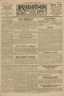 Robotnik : centralny organ P.P.S. R.34, nr 219 (7 sierpnia 1928) = nr 3417