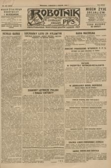 Robotnik : centralny organ P.P.S. R.34, nr 221 (9 sierpnia 1928) = nr 3419