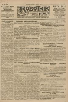 Robotnik : centralny organ P.P.S. R.34, nr 222 (10 sierpnia 1928) = nr 3420