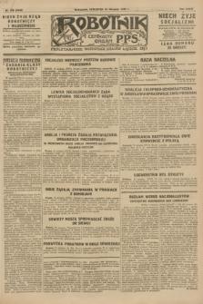 Robotnik : centralny organ P.P.S. R.34, nr 228 (16 sierpnia 1928) = nr 3426