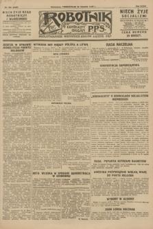 Robotnik : centralny organ P.P.S. R.34, nr 232 (20 sierpnia 1928) = nr 3429