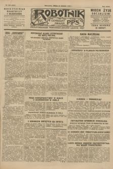 Robotnik : centralny organ P.P.S. R.34, nr 234 (22 sierpnia 1928) = nr 3431