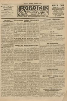 Robotnik : centralny organ P.P.S. R.34, nr 235 (23 sierpnia 1928) = nr 3432