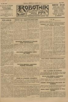 Robotnik : centralny organ P.P.S. R.34, nr 238 (26 sierpnia 1928) = nr 3435