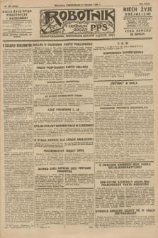 Robotnik : centralny organ P.P.S. R.34, nr 239 (27 sierpnia 1928) = nr 3436