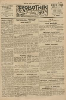 Robotnik : centralny organ P.P.S. R.34, nr 240 (28 sierpnia 1928) = nr 3437