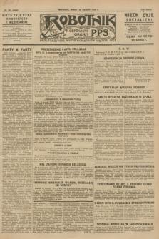 Robotnik : centralny organ P.P.S. R.34, nr 241 (29 sierpnia 1928) = nr 3438