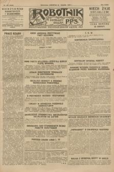 Robotnik : centralny organ P.P.S. R.34, nr 242 (30 sierpnia 1928) = nr 3439