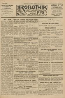 Robotnik : centralny organ P.P.S. R.34, nr 243 (31 sierpnia 1928) = nr 3440
