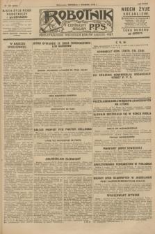 Robotnik : centralny organ P.P.S. R.34, nr 245 (2 września 1928) = nr 3442