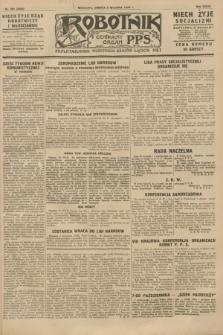 Robotnik : centralny organ P.P.S. R.34, nr 251 (8 września 1928) = nr 3448