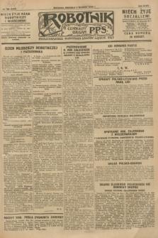 Robotnik : centralny organ P.P.S. R.34, nr 252 (9 września 1928) = nr 3449