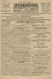 Robotnik : centralny organ P.P.S. R.34, nr 256 (13 września 1928) = nr 3453