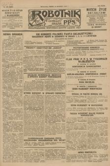 Robotnik : centralny organ P.P.S. R.24, nr 257 (14 września 1928) = nr 3464