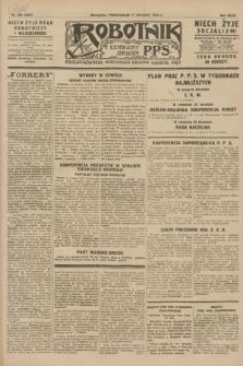 Robotnik : centralny organ P.P.S. R.34, nr 260 (17 września 1928) = nr 3467