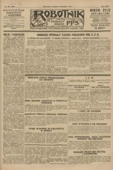 Robotnik : centralny organ P.P.S. R.34, nr 261 (18 września 1928) = nr 3468