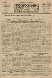 Robotnik : centralny organ P.P.S. R.34, nr 264 (21 września 1928) = nr 3471