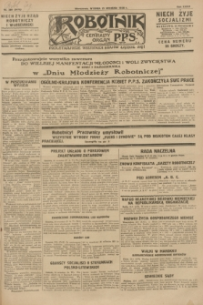 Robotnik : centralny organ P.P.S. R.34, nr 268 (23 września 1928) = nr 3475