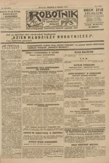 Robotnik : centralny organ P.P.S. R.34, nr 270 (27 września 1928) = nr 3477