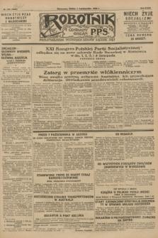 Robotnik : centralny organ P.P.S. R.34, nr 276 (3 października 1928) = nr 3483