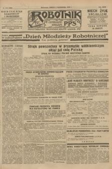 Robotnik : centralny organ P.P.S. R.34, nr 279 (6 października 1928) = nr 3486