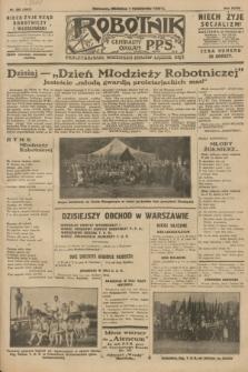 Robotnik : centralny organ P.P.S. R.34, nr 280 (7 października 1928) = nr 3487