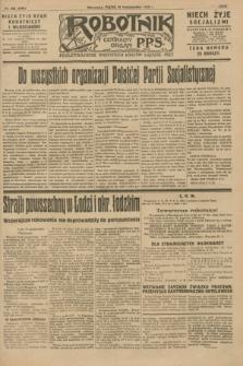 Robotnik : centralny organ P.P.S. R.34, nr 292 (19 października 1928) = nr 3498