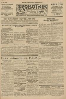 Robotnik : centralny organ P.P.S. R.34, nr 298 (22 października 1928) = nr 3504