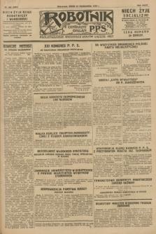 Robotnik : centralny organ P.P.S. R.34, nr 300 (24 października 1928) = nr 3507