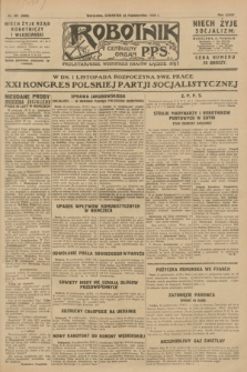 Robotnik : centralny organ P.P.S. R.34, nr 301 (25 października 1928) = nr 3508