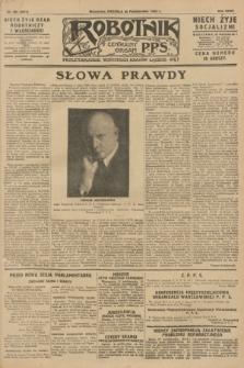 Robotnik : centralny organ P.P.S. R.34, nr 304 (28 października 1928) = nr 3511