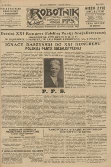 Robotnik : centralny organ P.P.S. R.34, nr 308 (1 listopada 1928) = nr 3515