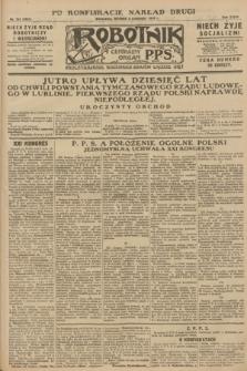 Robotnik : centralny organ P.P.S. R.34, nr 314 (6 listopada 1928) = nr 3521