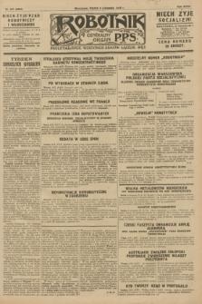 Robotnik : centralny organ P.P.S. R.34, nr 317 (9 listopada 1928) = nr 3524