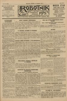 Robotnik : centralny organ P.P.S. R.34, nr 321 (13 listopada 1928) = nr 3528