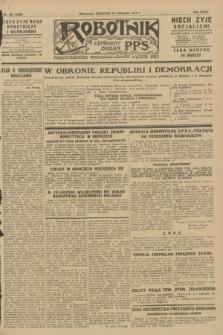 Robotnik : centralny organ P.P.S. R.34, nr 323 (15 listopada 1928) = nr 3530