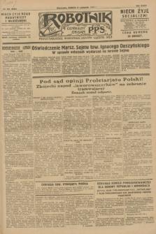 Robotnik : centralny organ P.P.S. R.34, nr 325 (17 listopada 1928) = nr 3532